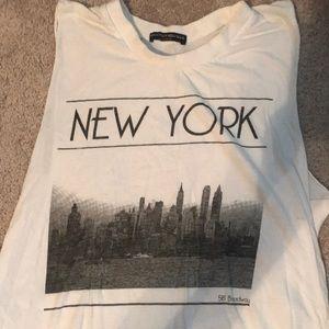 Muscle tank style shirt